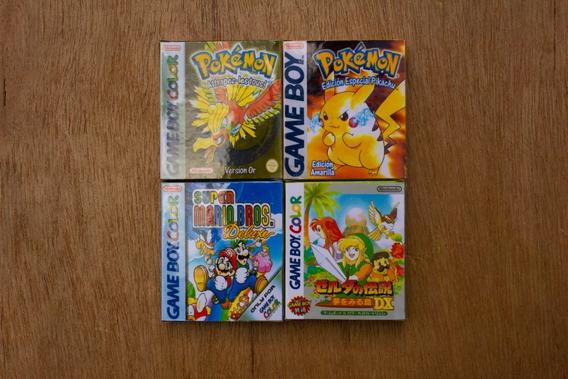 6 Mini Caixas Protetoras Para Jogos - Game Boy / Color (gb)