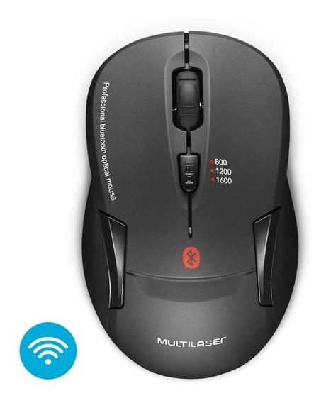 Mouse Sem Fio Bluetooth Preto - Mo254