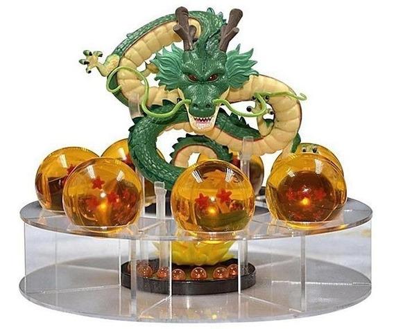 Dragon Ball Z - Shenlong + 7 Esferas Do Dragão + Base Goku