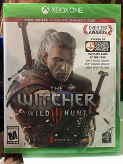 The Witcher 3 Xbox One Nuevo Sellado Incluye Mapa