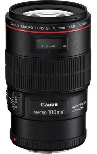 Imagem 1 de 3 de Lente Canon Ef 100mm F/2.8l Macro Is Usm Garantia Brasil+nfe
