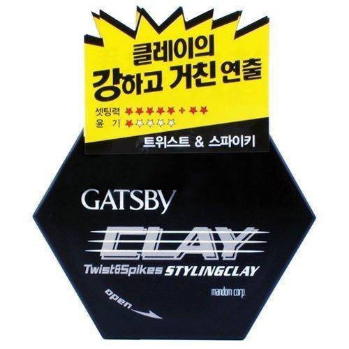 Gatsby Styling Clay Twist & Spikes 50 Gr