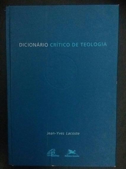 Dicionário Crítico De Teologia