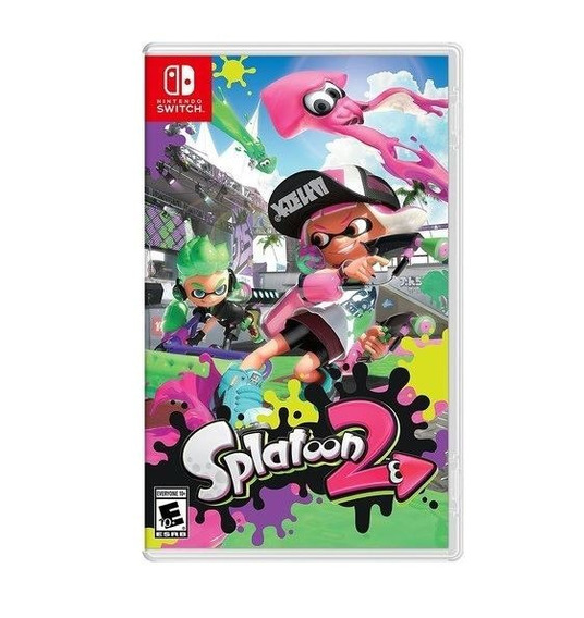 Splatoon 2 - Switch - Midia Fisica