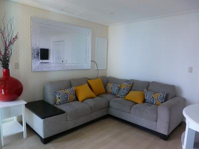 Alquilo Hermoso Apartamento Amueblado De 60 Mts2, Malecon Ce