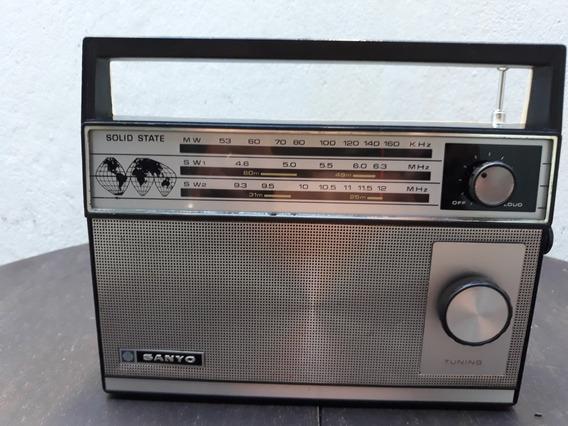 Radio Portatil Sanyo 3 Faixas Am.sw 1 Sw 2