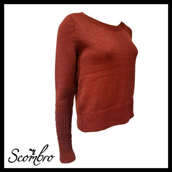 Sweater Scombro Mod: C Trenza En Manga C/red Cod: 2099