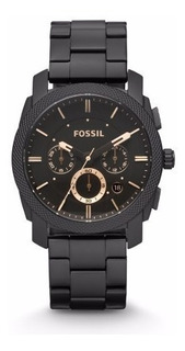 Reloj Fossil Fs4682 Machine Stainless Steel Para Hombre