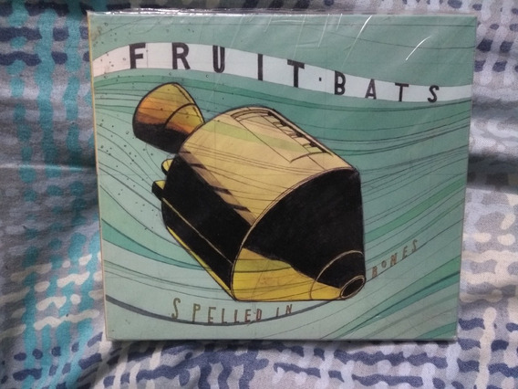 Fruit Bats Spelled In Bones Cd Importado Sub Pop Seminovo