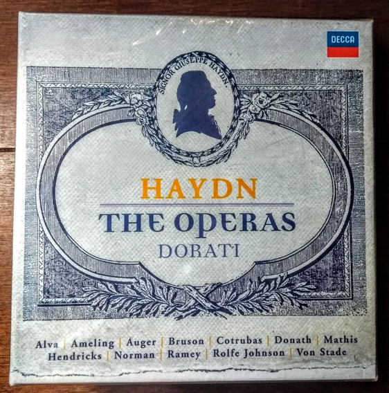 Box 20 Cds - Haydn: The Operas - Antal Dorati (2009)