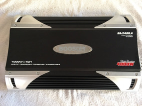 Módulo E Amplificador Automotivo Booster Ba-2400.4 3000watts