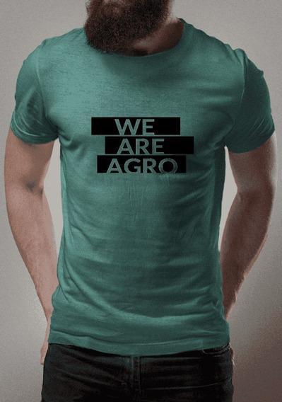 Camiseta Para Fãs Do Agronegócio Nós Somos Agro