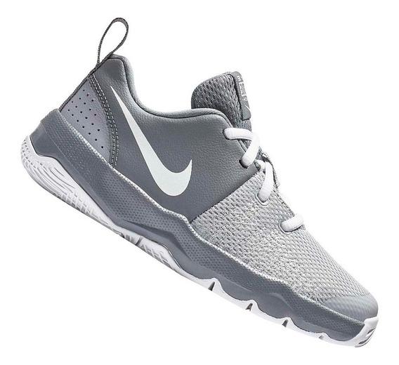 Tênis Nike Infantil Team Hustle Quick Gs Cinza 922680005