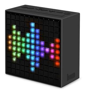 Parlante Bluetooth Divoom Timebox Reloj Led Redes Sociales