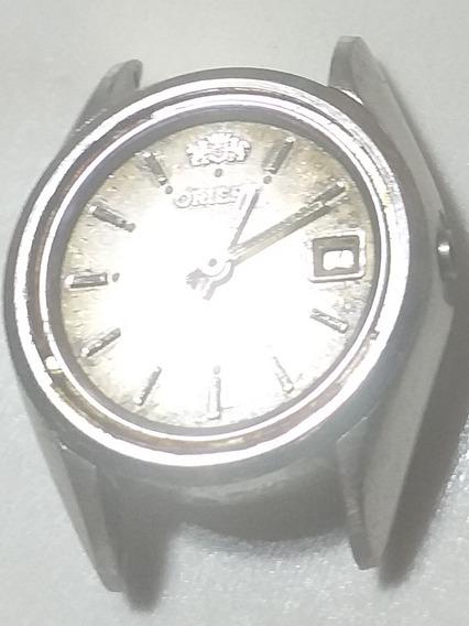 Relógio Oriente Feminino Automático P Conserto Ou Reaproveit