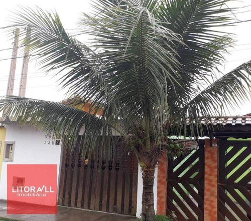 Imagem 1 de 10 de Casa Com 2 Dormitórios À Venda, 49 M² Por R$ 190.000,00 - Campos Elíseos - Itanhaém/sp - Ca1206