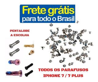 Frete Grátis Kit Completo De Parafusos Para iPhone 7 /7 Plus
