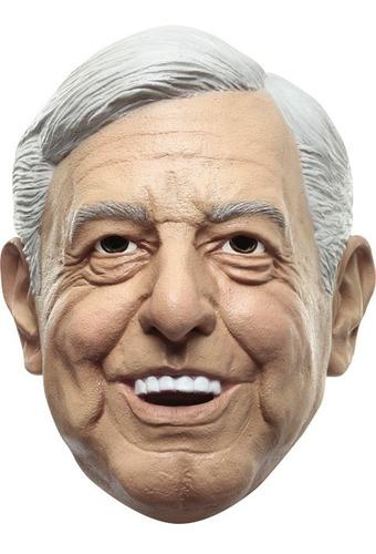 Imagen 1 de 1 de Máscara De Andrés Manuel López Obrador Amlo