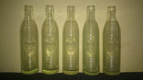 Antiguas Botellas Crush Decada Del 60 + Regalo 2 Bot. (gini)