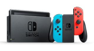 Nintendo Switch 32gb Rojo Y Azul Neo + Accesorios + Juegos