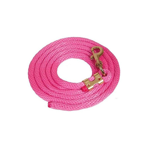 Mustang Poly Lead Rope Pink