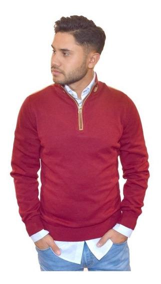 Sweater Medio Cierre C/codera 7026772/25 Jean Vernier