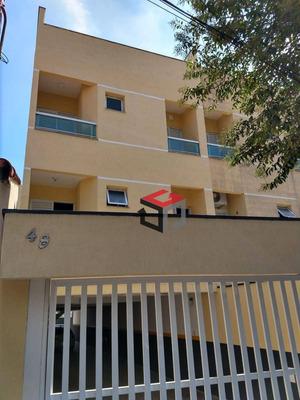 Cobertura Com 2 Dormitórios À Venda, 110 M² Por R$ 280.000 - Vila Vitória - Santo André/sp - Co51126