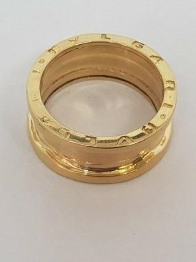 Anel Modelo Bvlgari Em Ouro 18k