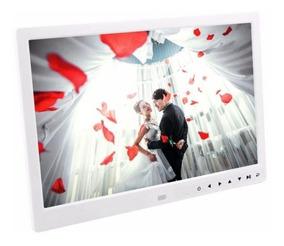 Porta Retrato Digital Tela 13 Controle Remoto Usb Pendrive