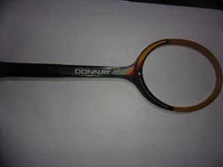Raqueta Tenis Donnay Smasher Team Antigua De Coleccion