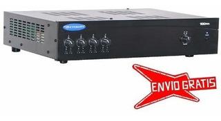 Ftm Consola Potenciada Crown 180ma - Mixer 80 Watts Por Zona