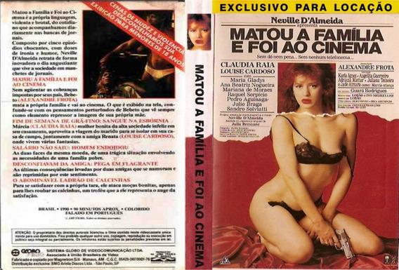 Dvd Matou A Familia E Foi Ao Cinema ( Filme Nacional )