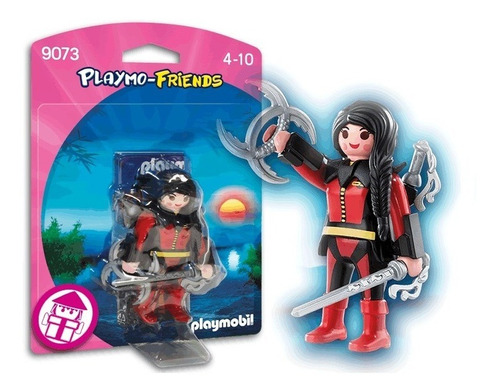 Playmobil Linea Playmo-friends - Guerrera Ninja - 9073