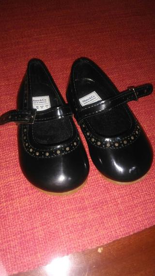 Zapatos De Nena Charol N20