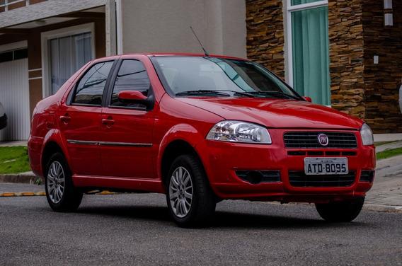 Fiat Siena 2011 1.0 Flex Vermelho