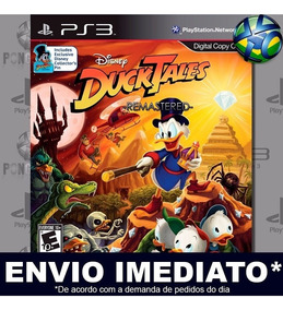 Jogo Ps3 Ducktales Remastered Play 3 Cód Psn Mídia Digital