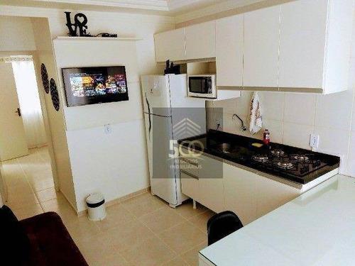Apartaento Mobiliado  Com 1 Dormitório - Ingleses Do Rio Vermelho - Ap2283