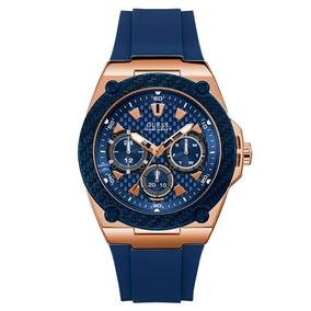 Relógio Guess Azul W1049g2