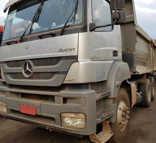 Mercedes-bens Axor 3344 K 6x4 Ano 2014 Traçado Caçamba