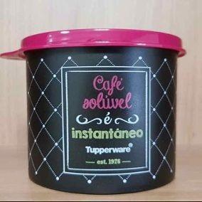Tupperware Redondinha Café Soluvel Bistrô 500ml Lançamento