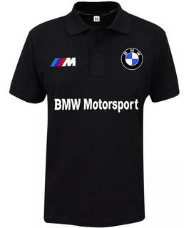 Camiseta Polo Bmw Ótima Qualidade