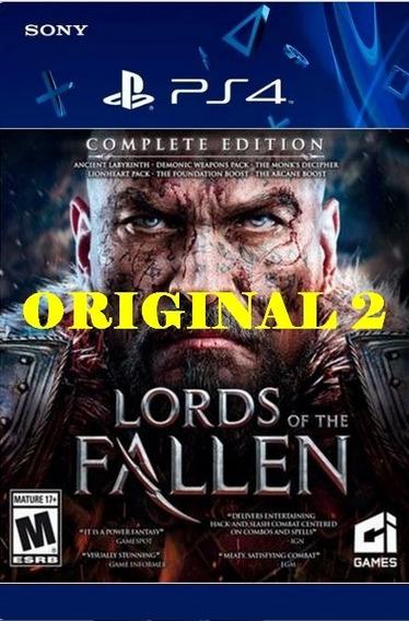 Lords Of The Fallen - Psn Code 2 Envio Já