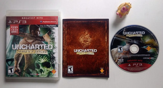 Uncharted Drakes Fortune Ps3 * Mundo Abierto Vg *