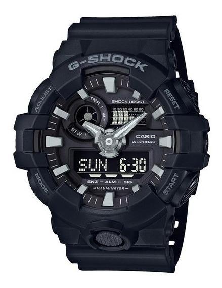 Relógio Masculino Preto Ga 700 1bdr Nova Linha Ga 700