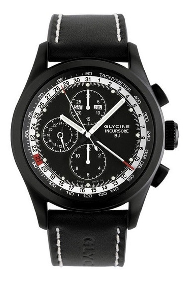 Reloj Glycine Incursore Cronografo Black Jack Complique