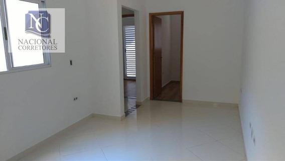 Apartamento Com 2 Dormitórios À Venda, 47 M² Por R$ 212.000,00 - Vila Curuçá - Santo André/sp - Ap2823