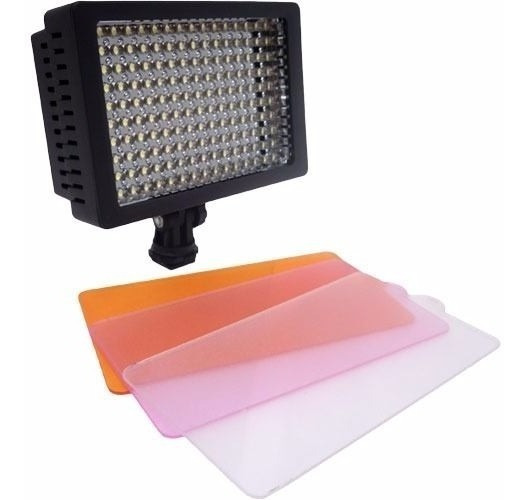 Iluminador De Led W160 Para Câmeras De Vídeo Ou Fotográficas