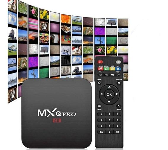 4k 16gb Standard Black Tv Box Com 2gb Ram