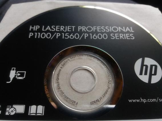 Cd Driver Impressora Hp Laserjet P1100/p1560/p1600