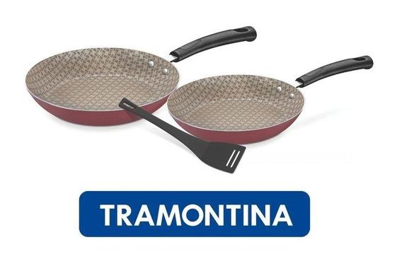 Jogo Frigideiras Starflon Antiaderente 3 Peças Tramontina